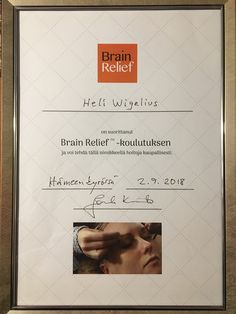 Osallistuin viime syksynä Brain Relief -koulutukseen Hämeenkyrössä, ihanassa Frantsilan miljöössä. Siitä lähtien olen saanut tehdä näitä ihania Brain Relief -hoitoja. Brain, Polaroid Film, Movies, Movie Posters, The Brain, Films, Film Poster, Cinema, Movie