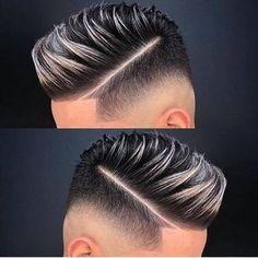 30 Inspiring Mens hairstyles for all Type of hair Length Mannlicher Friseur Mens Hair Colour, Hair Color, Short Hair Cuts, Short Hair Styles, Gents Hair Style, Fade Haircut, Haircut Men, Hair And Beard Styles, Hairstyles Haircuts