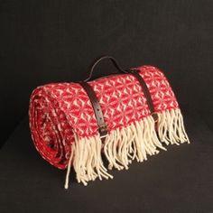Darkroom Picnic Blanket - Cobweave Red