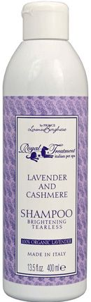 Royal Treatment Organic Lavender and Cashmere Shampoo is back!!!  I got this product recently for my 3 chis.  Not this scent, but shampoo and conditioner by this company.  I will post how it works when i use it.