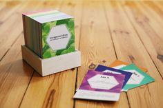 Tischkalender - Immerwährender Nachhaltigkeitskalender - ein Designerstück von Evergreen-Ideas bei DaWanda