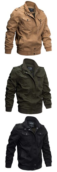 Washed Style Jackets in Cotton. The Latest Trend this Winter. Size: XS - 4XL.