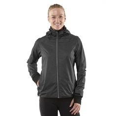 3840aeec0 Womens R-Gear Taken By Storm Rain Jacket, Heather Charcoal/Charcoal , XS. Coats  For WomenHooded ...