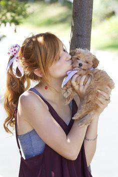 bella thorne kingston photos | Bella Thorne Official Fan Blog: Fotos preciosas de Bella y Kingston!