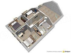 Projekt domu Lisandra 2M 122,9 m2 - koszt budowy - EXTRADOM House Ideas, House 2