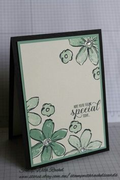 Stampin up Garden in bloom stamp set.
