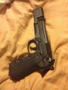 My Beretta 92a1 -SGS Compensator -Hogue GripsFind our speedloader now! http://www.amazon.com/shops/raeind