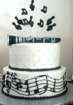 Clarinet cake AMAZING!!!