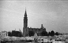 kościół św. Augustyna, 1945 r.