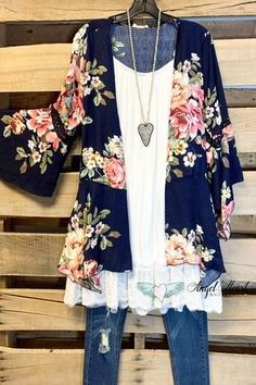 Plus Size Boutique, Angel Heart Boutique specialize in high quality plus size boutique clothing and unique styles. We carry true to size (American Size) plus size clothes. Plus Size Clothing Online, Plus Size Womens Clothing, Clothes For Women, Plus Size Lace Dress, Plus Size Kimono, Floral Plus Size Dresses, Plus Size Cardigans, Cardigans For Women, Curvy Outfits