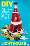 How To Make A Clay Pot Lighthouse For Your Home Or Garden
