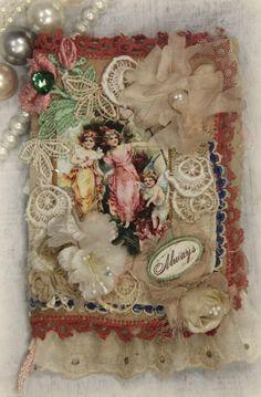 France OOAK Handmade Art Collage Book Notebook Scrapbook Memory Book ELITE4U | eBay