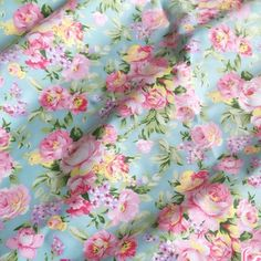 Find More Fabric Information about 1*1.6m 100% Cotton twill blue fresh  flowers floral pastoral Fabric DIY  Sewing,Cushions clothes Bedding Textile Crafts cloth,High Quality cloth removal,China textile chemical Suppliers, Cheap cloth wipe from Constance's fabric boutique on Aliexpress.com