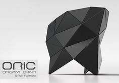 "Origami Chair ""ORIC"" by Yuji Fujimura"