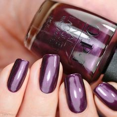 OPI Boys Be Thistle-ing bei mir Scotland Collection Opi Nail Polish Colors, Purple Nail Polish, Best Nail Polish, Nail Polish Designs, Opi Nails, Nail Colors, Nail Art Designs, Fingernails Painted, Bobbi Brown