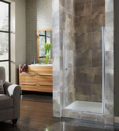Contemporary Showers shower screen - contemporary - showers - london -float glass