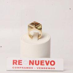 Anillo oro con brillantes y topacio amarillo de segunda mano E275366   Tienda online de segunda mano en Barcelona Re-Nuevo