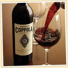 Francis Coppola Cabernet Sauvignon. Perfect when paired with our grilled rack of New Zealand lamb.