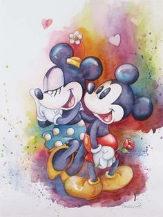 """A Rose for Minnie"" by Michelle St. Laurent - Limited Edition of 195 on Canvas, 24x18."