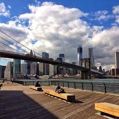 NYC. Brooklyn Bridge Park - Picnic Area