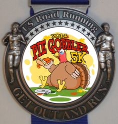We now have 173 registered for the Pie Gobbler 5K/10K/Half Marathon Run/Walk. Make sure you post your time and check the results to see how you placed. Each runner/walker will receive a 3 inch US Road Running medal. Your Race, Your Location. Virtual Event. Here is the link for the event: http://usroadrunning.com/index.php?club_id=2648