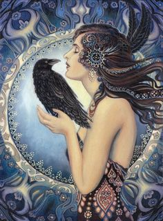 """Raven Goddess"" par Emily Balivet"