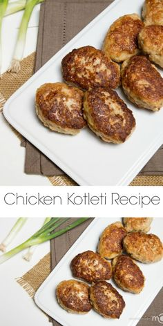 Polish Chicken Kotleti are similar to chicken nuggets. This recipe makes the most amazing, juicy kotleti. Ukrainian Recipes, Russian Recipes, Ukrainian Food, Russian Foods, Croatian Recipes, Hungarian Recipes, Gourmet Recipes, Cooking Recipes, Healthy Recipes