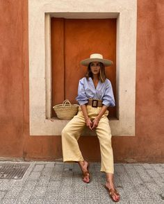 Ropa Urban Outfitters, Urban Outfitters Clothes, Spring Summer Fashion, Spring Outfits, Alexandra Pereira, Outfits Con Camisa, Chic Outfits, Fashion Outfits, Mode Ootd