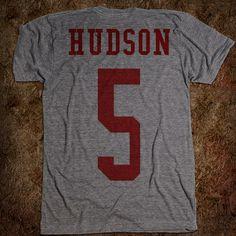 WMHS Finn Hudson Jersey Tshirt