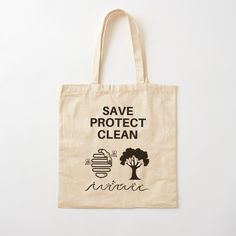 Save~Protect~Clean - Get yourself a unique cool custom desing from RIVEofficial Redbubble shop : )). Printed Tote Bags, Cotton Tote Bags, All About Shoes, Pin Pin, Pinterest Fashion, Gift Bags, Happy Shopping, Murals, Cool T Shirts
