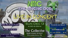 Get ready! NIIC is performing LIVE in Philly on Sunday, December 13th!  Get your tickets at NIICmusic.com/LIVE