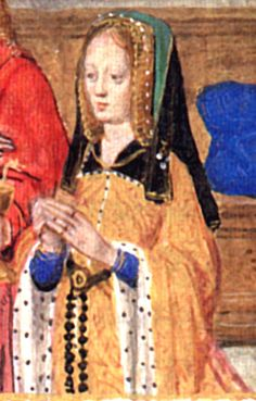 """From """"Hours of Joanna of Castile"""", Master of the David Scenes in the Grimani Breviary and Workshop. Bruges or Ghent, Between 1496 and 1506. Manuscript: V + 422 + iii folios. Collection: London, The British Library, Add. Ms. 18852.    Image from the book Illuminating the Renaissance: The Triumph of Flemish Manuscript Painting in Europe, by J. Paul Getty Trust (2003). Page #386; Info on page #385. Getty Publications. Los Angeles, CA, USA. Paperback edition. ISBN #0-8923-6704-0.    Kimiko Small"""