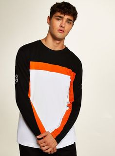 56d36797 Black 'Downtown' T-Shirt - TOPMAN T Shirt Vest, Mens Fashion,