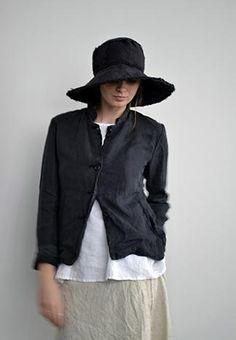 pipsqueak chapeau - 4 button linen jacket
