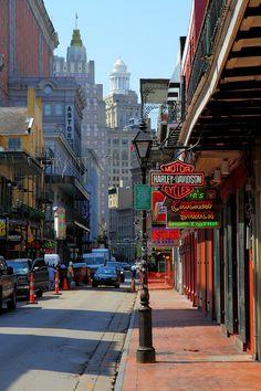 Bourbon Street  / New Orleans / Louisiana