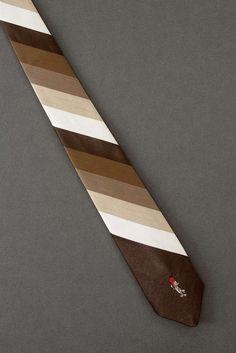 Woody Woodpecker - Skinny Striped Necktie