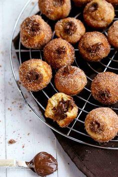 Nutella Churro Donut