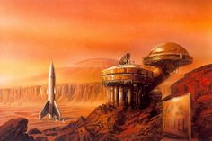 Bob Eggleton - Mars Hotel