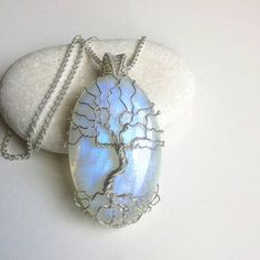 Check out this item in my Etsy shop https://www.etsy.com/listing/261391406/moonstone-necklace-rainbow-moonstone