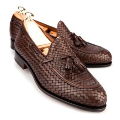 Sophisticated mens loafers assembled in black calf leather using refined Goodyear materials. Our loafer shoes collection can only be found in Carmina store! Mens Loafers Shoes, Dress Loafers, Tassel Loafers, Dress Shoes, Men Sneakers, Shoes Men, Men's Shoes, Casual Leather Shoes, Casual Shoes