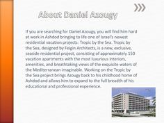 About daniel azougy by Daniel Azougy via slideshare