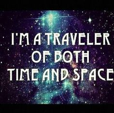"Time doesn't actually exist so let's say ""interdimensional adventurer"" 😉✨🙏~Led Zep"