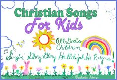 Christian Songs and Crafts for Kids (Hand Motions, Lyrics, and More!)