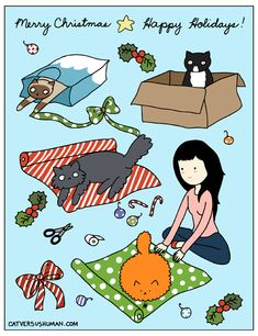 Christmastime from: From Cat to Human