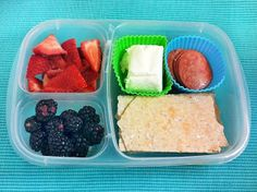 Operation: Lunch Box: Day 166 - Wasa and Toppings Whats For Lunch, Lunch To Go, Lunch Snacks, Lunch Recipes, Box Lunches, Healthy Recipes, Easy Lunch Boxes, Lunch Ideas, Bento Ideas