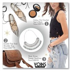 """""""Yoins 6"""" by dressedbyrose ❤ liked on Polyvore featuring мода и yoins"""