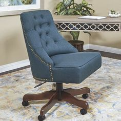 Rebecca Tufted Office Chair