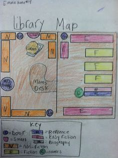 Good During Grade Mapping Skills Combine With Penny S Map And Create A Map Of The Library