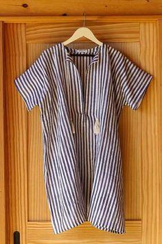 Emerson Fry - Tassel Caftan - Grey Stripe Giveaway!