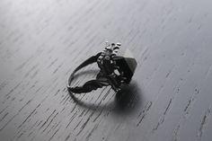 Castle Black Ring by charlotteburkhart on Etsy, $160.00